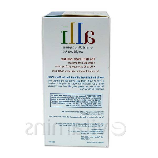 weight loss pill alli side effects