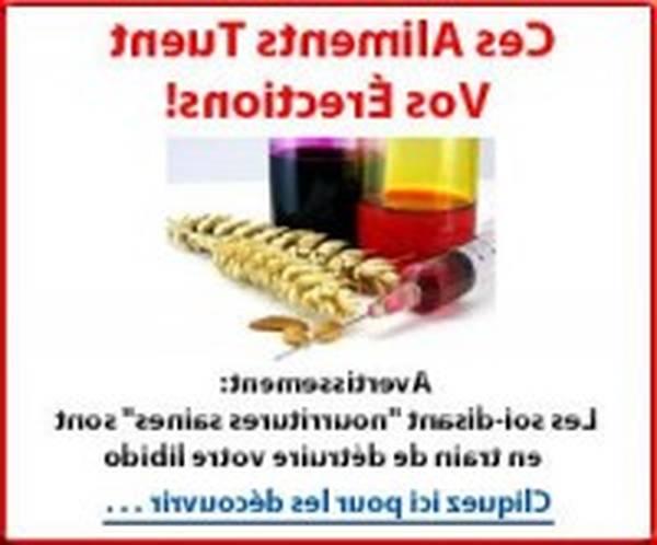 Médicament érection
