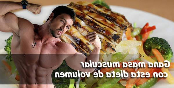 dietas masa muscular