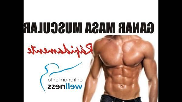 falta de masa muscular