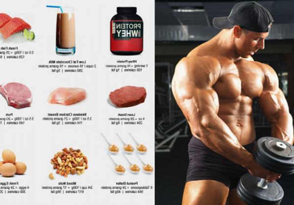 proteinas ganar masa muscular