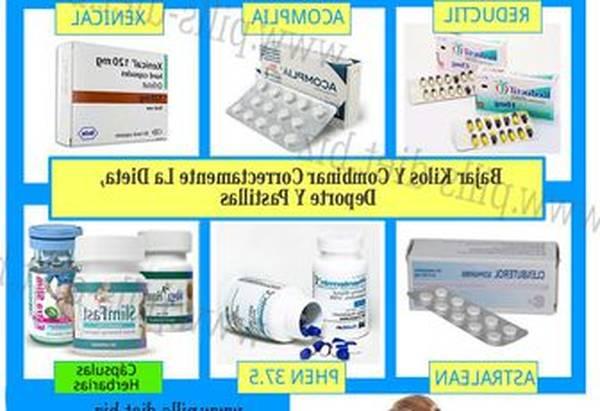 que pastillas tomar para bajar de peso